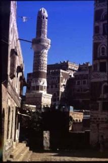 Minaret in Saana