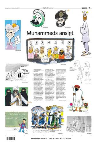 Mohammad Controversy Images