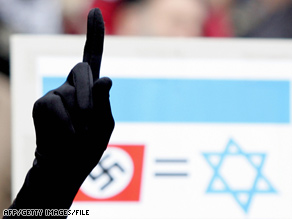 Equation between Nazis and Israel