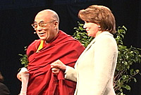Nancy Pelosi and Dalai Lama
